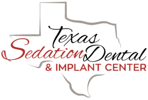 Texas Sedation Dental Logo Transparent Black