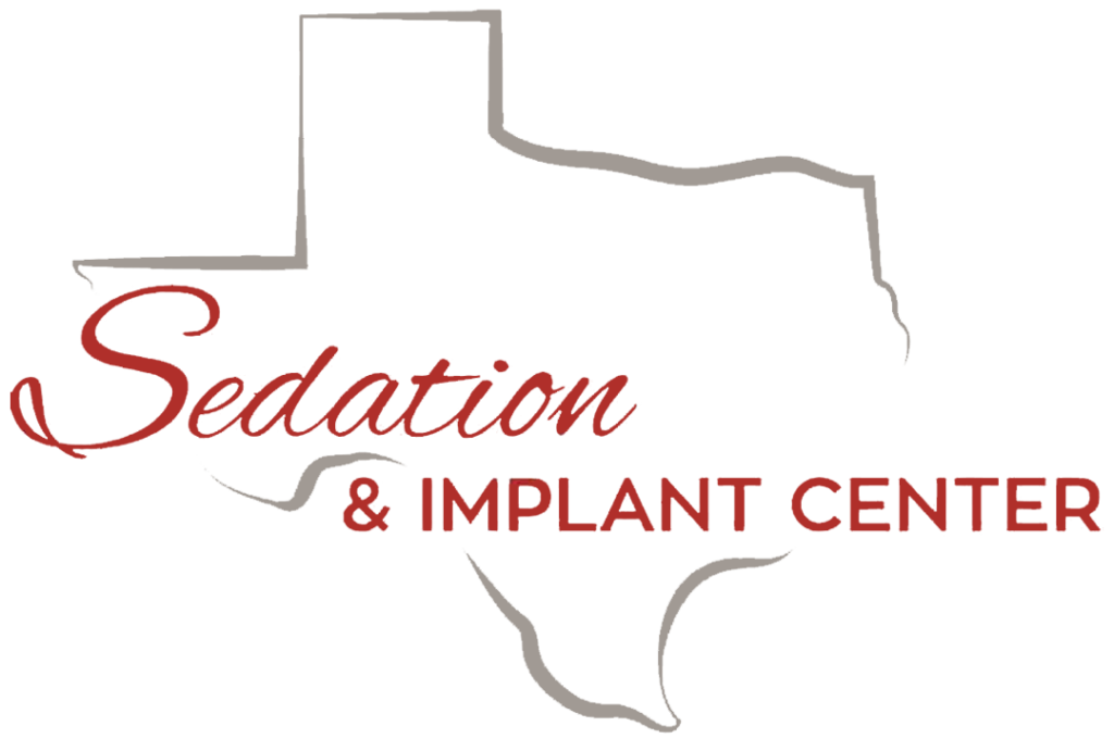 Transparent Logo Texas Sedation Dental and Implant Center Dallas Shreveport Tyler Longview All on Four