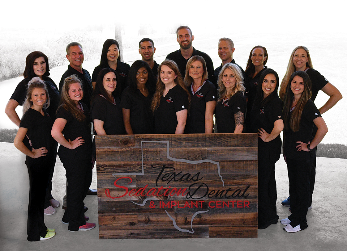 Employee Staff Team Logo Texas Sedation Dental Center and Implant Tyler Longview Shreveport Dallas
